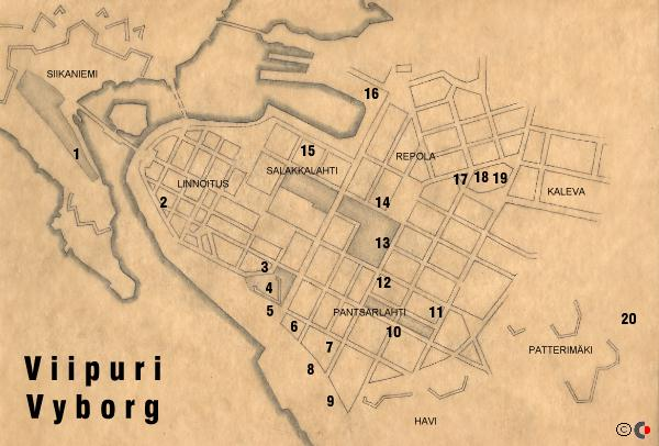 map of Viipuri (43K)
